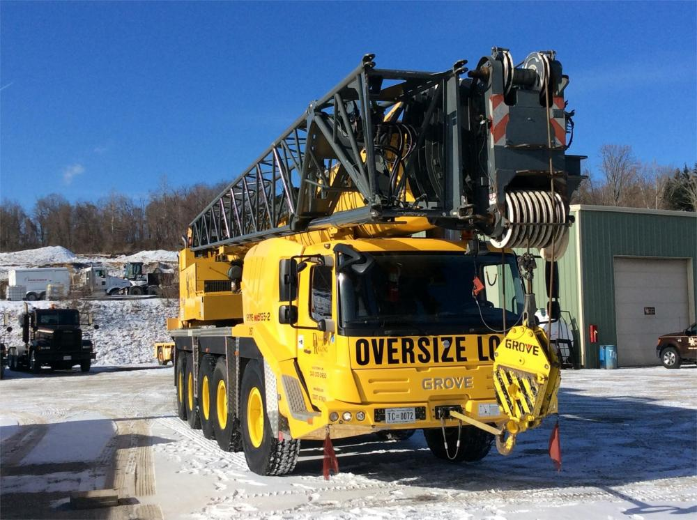 Detail photo of 2009 Grove GMK5165 from Construction Equipment Guide