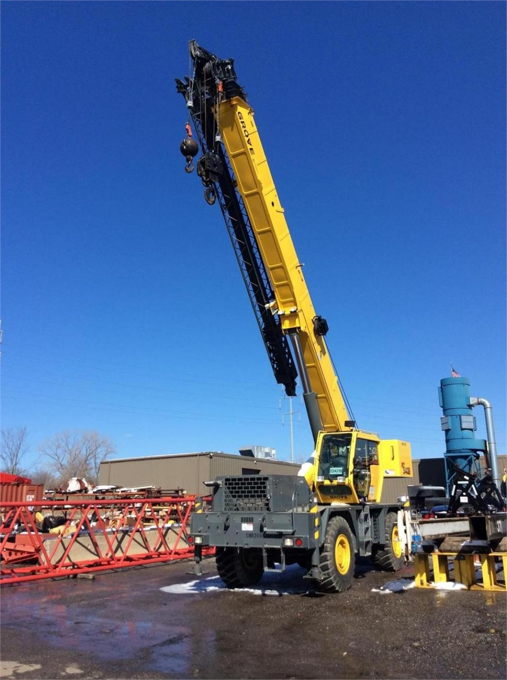 Detail photo of 2012 Grove RT540E from Construction Equipment Guide