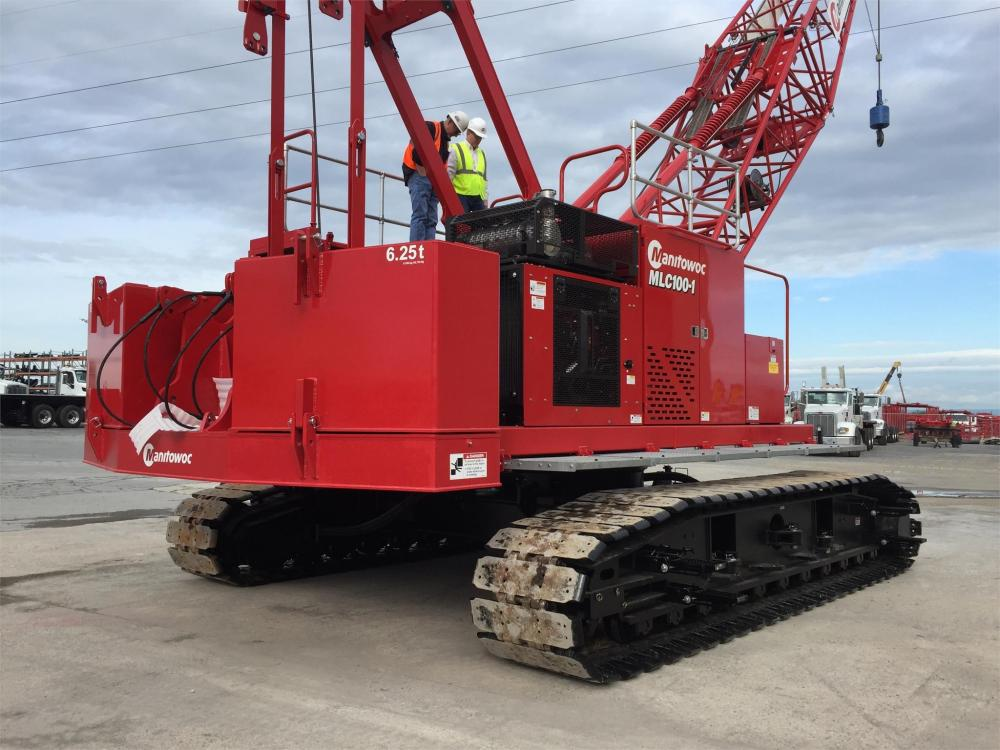 Detail photo of 2019 Manitowoc MLC100-1 from Construction Equipment Guide