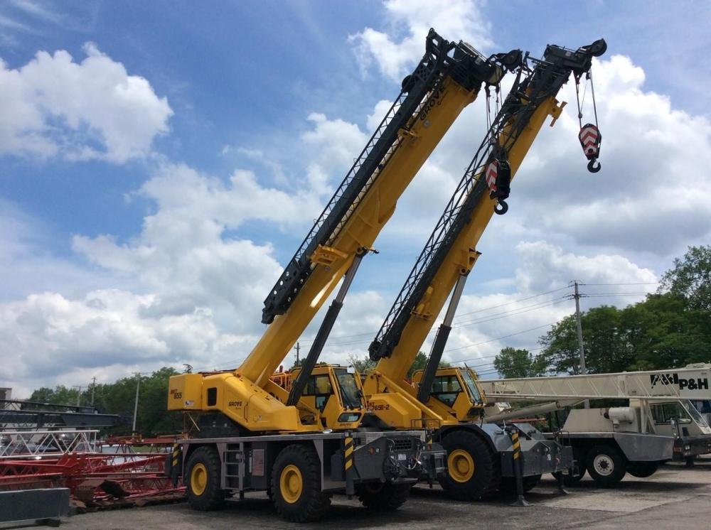 Detail photo of 2019 Grove GRT655 from Construction Equipment Guide