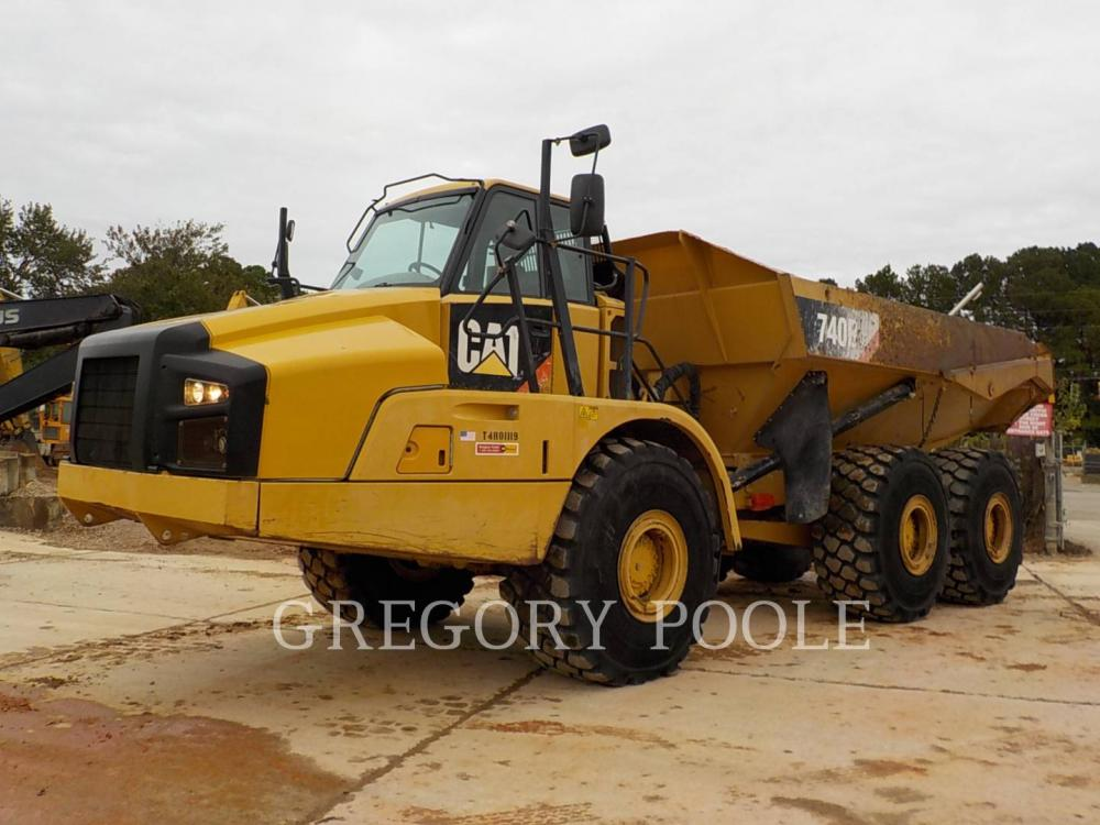 Detail photo of 2011 Caterpillar 740B from Construction Equipment Guide
