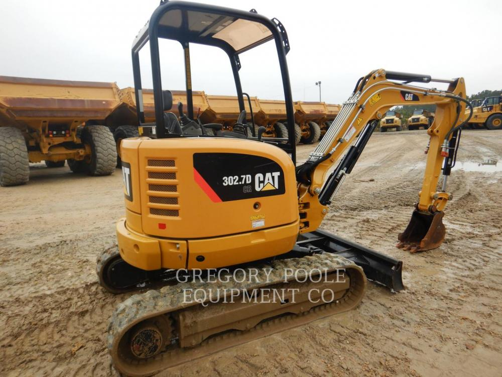 Detail photo of 2016 Caterpillar 302.7D CR from Construction Equipment Guide