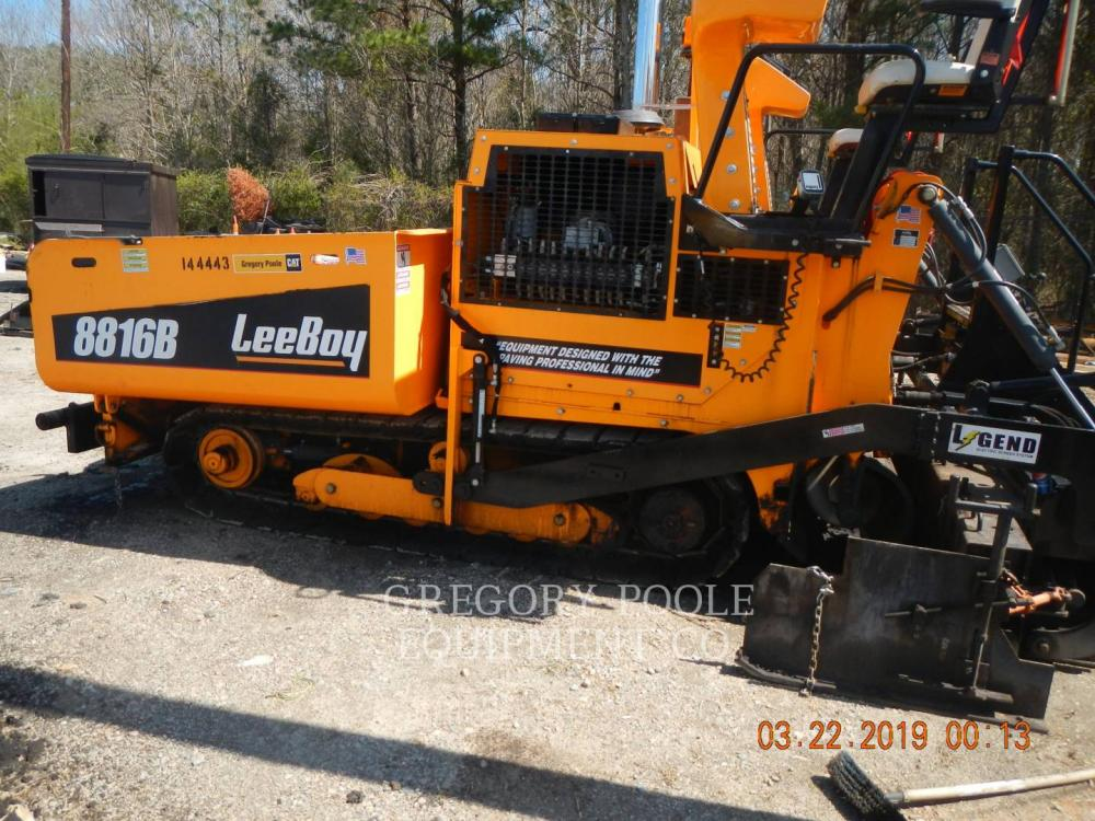 Detail photo of 2016 LeeBoy 8816 from Construction Equipment Guide