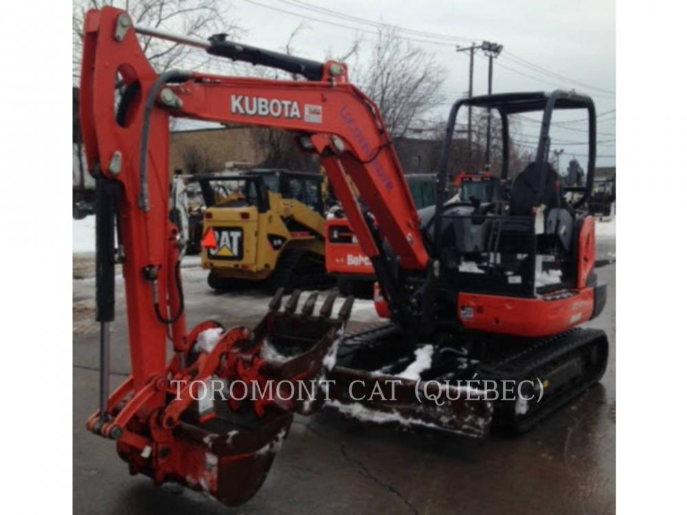Detail photo of 2015 Kubota KX040-4 from Construction Equipment Guide