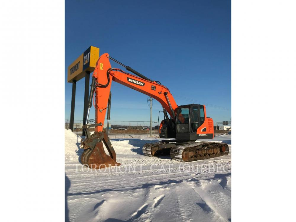 Detail photo of 2018 Doosan DX235LCR-5 from Construction Equipment Guide
