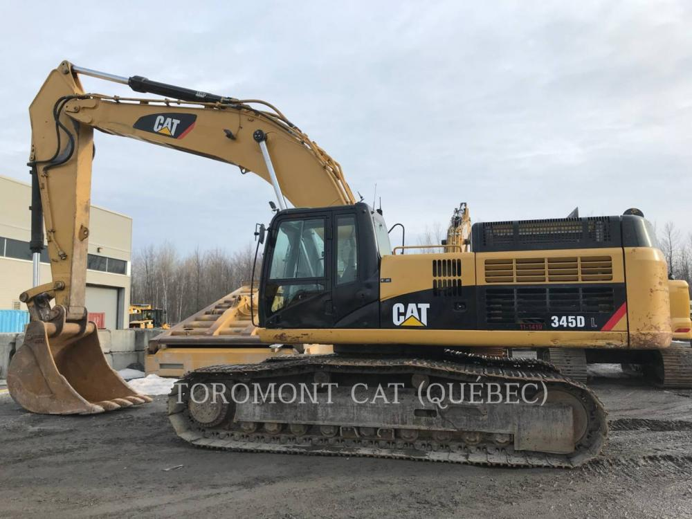 Detail photo of 2011 Caterpillar 345D from Construction Equipment Guide
