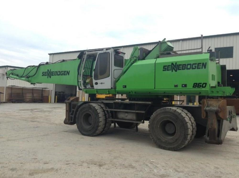 Detail photo of 2013 Sennebogen 860M from Construction Equipment Guide