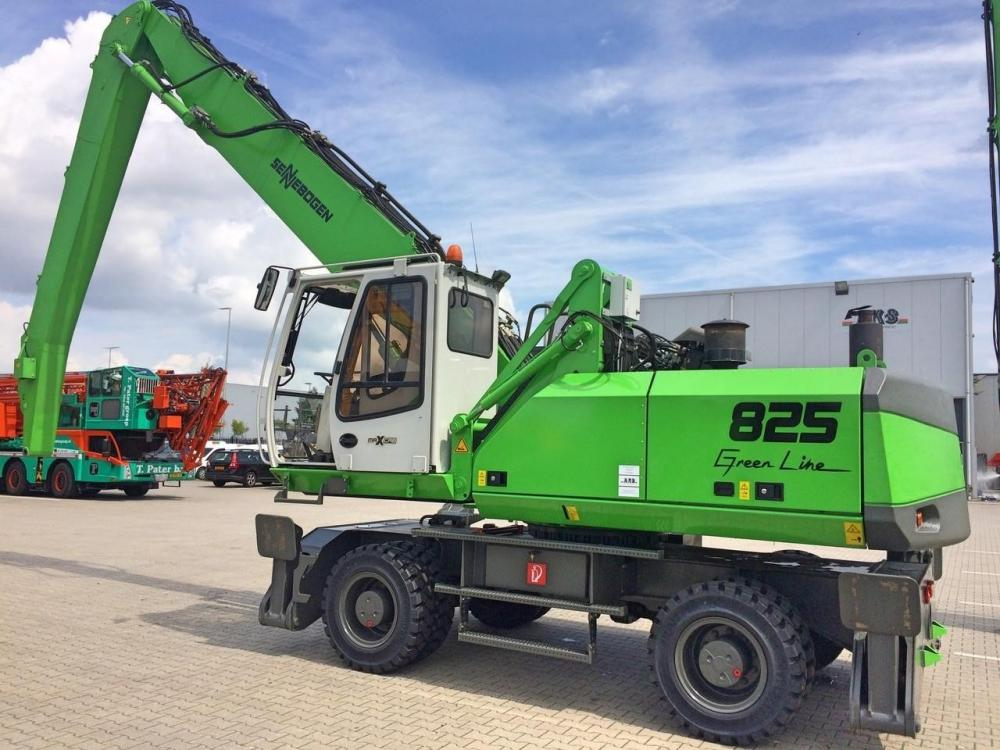 Detail photo of 2010 Sennebogen 825M D from Construction Equipment Guide