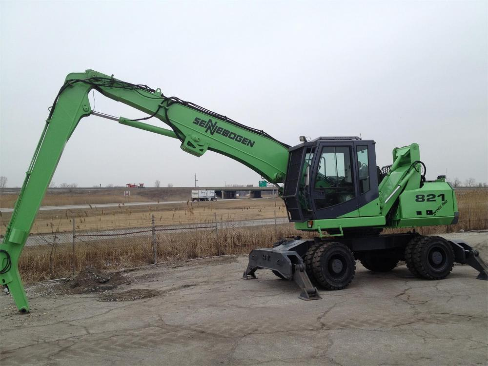 Detail photo of 2009 Sennebogen 821M from Construction Equipment Guide