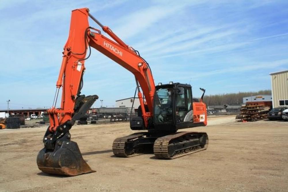 Detail photo of 2014 Hitachi ZX160LC-5 from Construction Equipment Guide