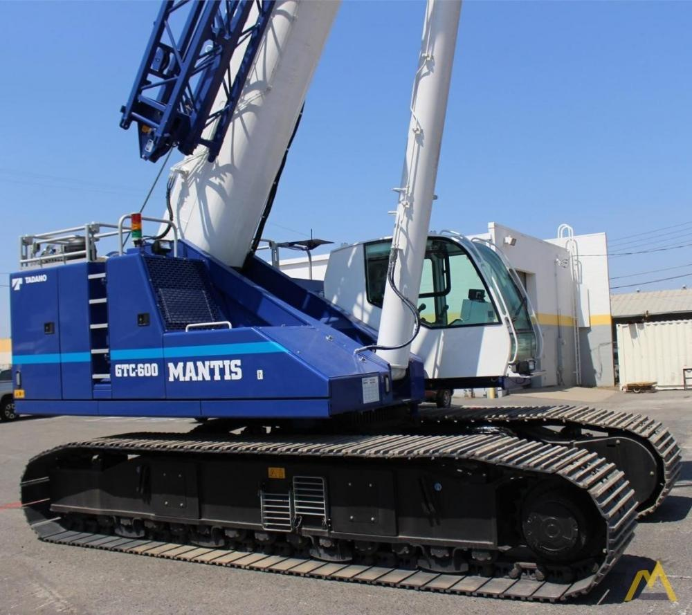 Detail photo of 2018 Tadano GTC-600 from Construction Equipment Guide
