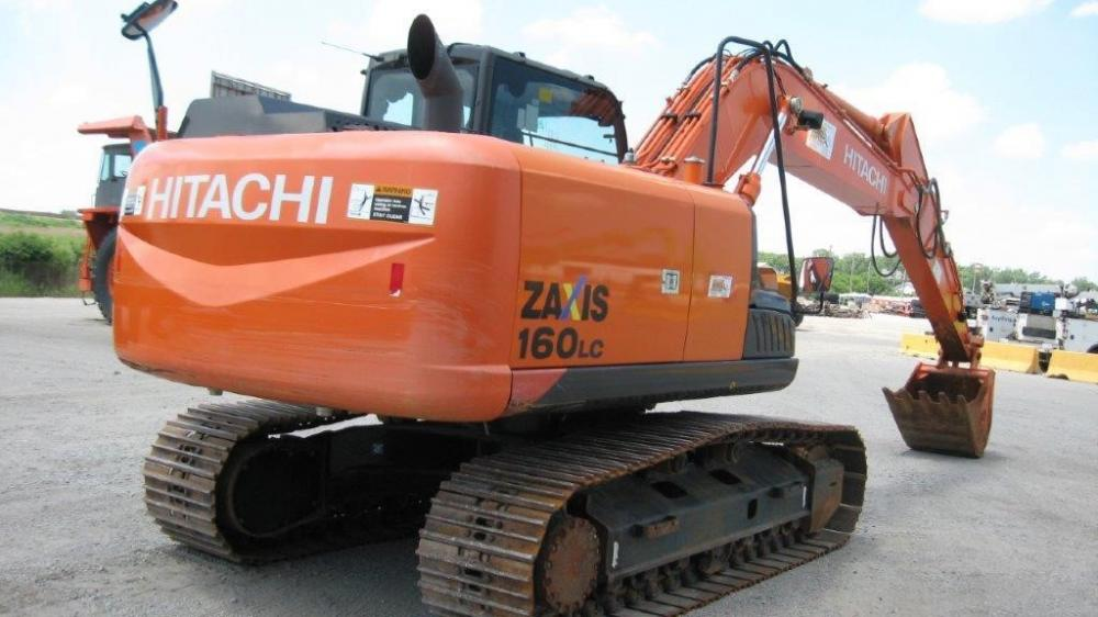 Detail photo of 2012 Hitachi ZX160LC-5 from Construction Equipment Guide
