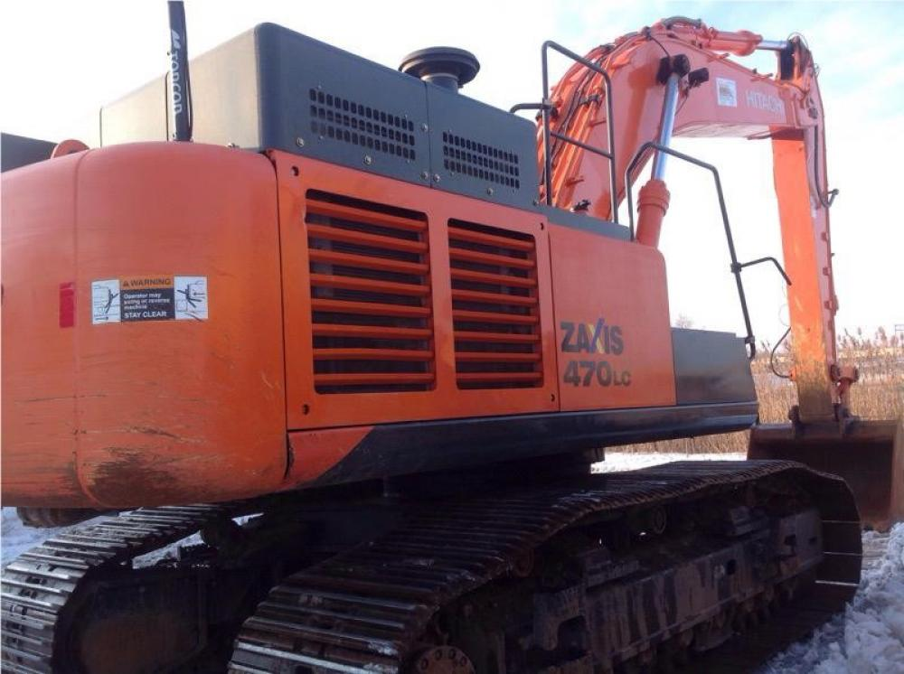 Detail photo of 2014 Hitachi ZX470LC-5 from Construction Equipment Guide