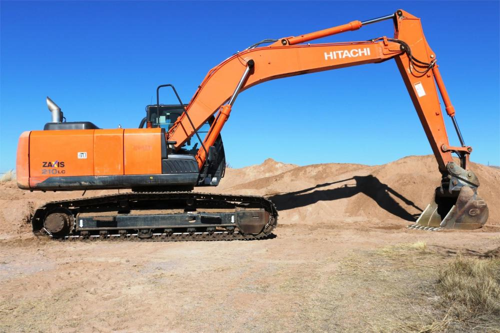 Detail photo of 2013 Hitachi ZX210LCN-5 from Construction Equipment Guide