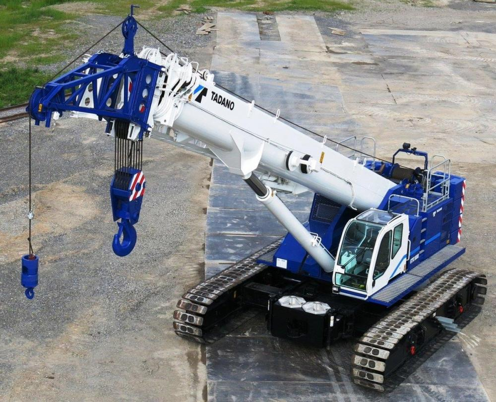 Detail photo of 2018 Tadano GTC-1200 from Construction Equipment Guide