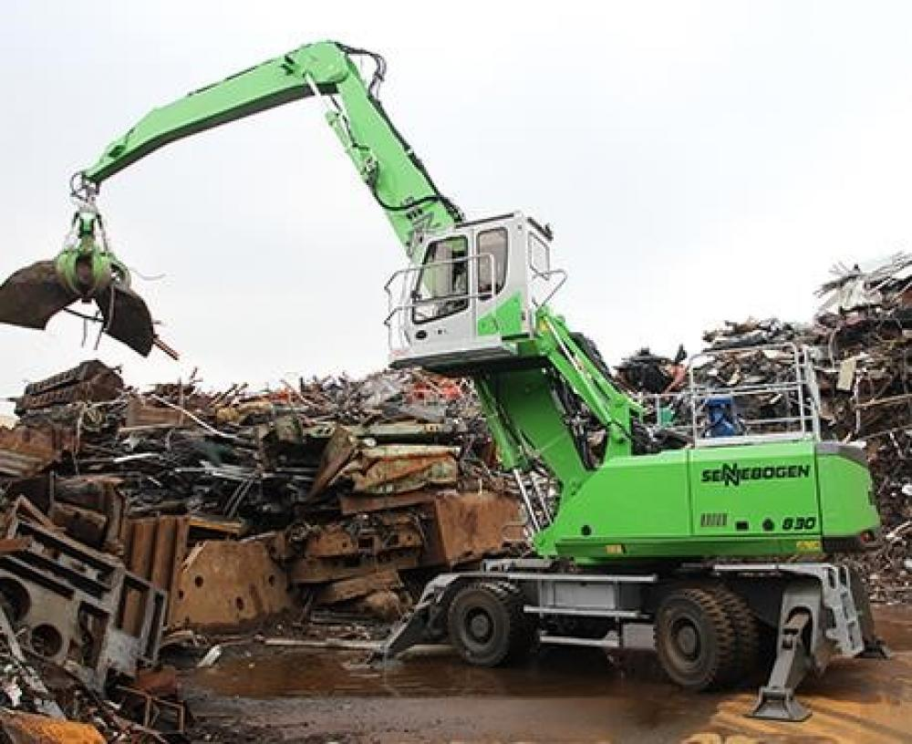 Detail photo of 2019 Sennebogen 830 from Construction Equipment Guide