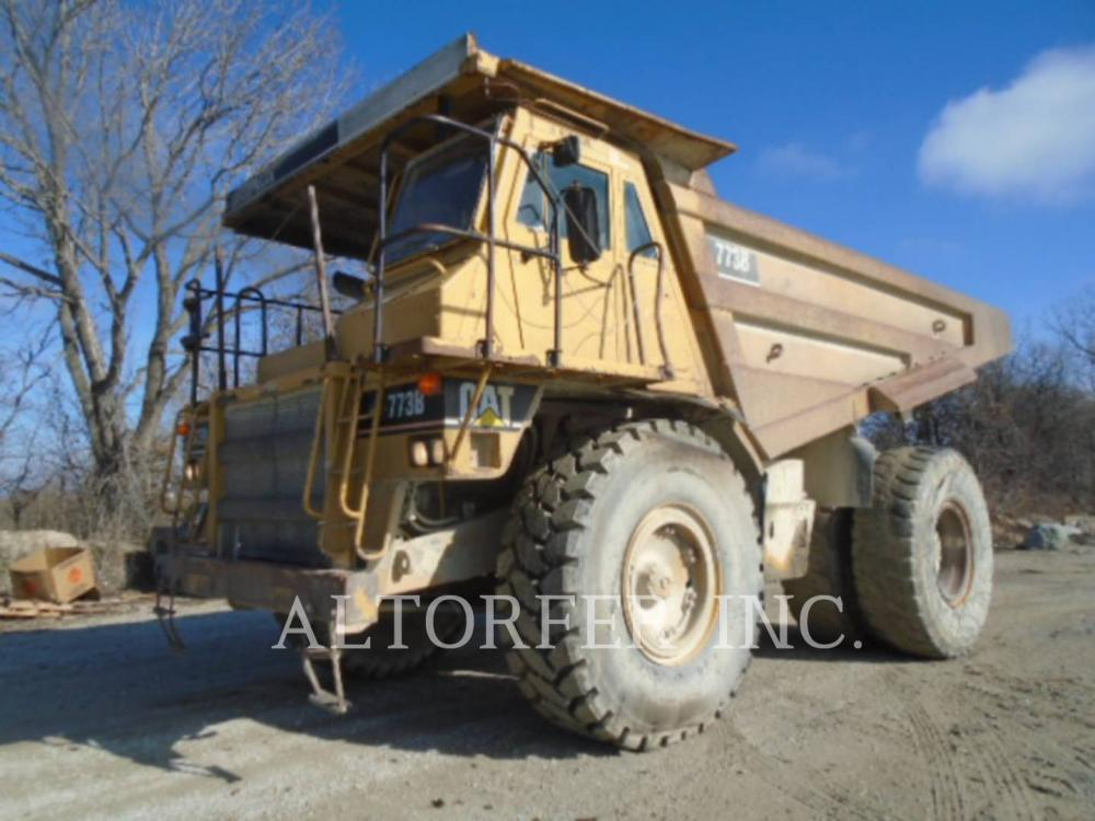 Detail photo of 1995 Caterpillar 773B from Construction Equipment Guide