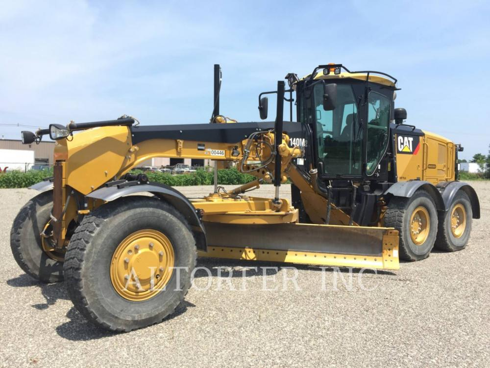 Detail photo of 2011 Caterpillar 140M II from Construction Equipment Guide