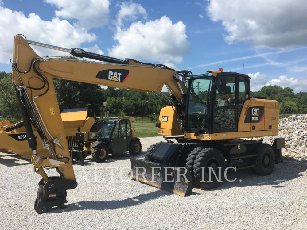 Detail photo of 2016 Caterpillar M318F from Construction Equipment Guide
