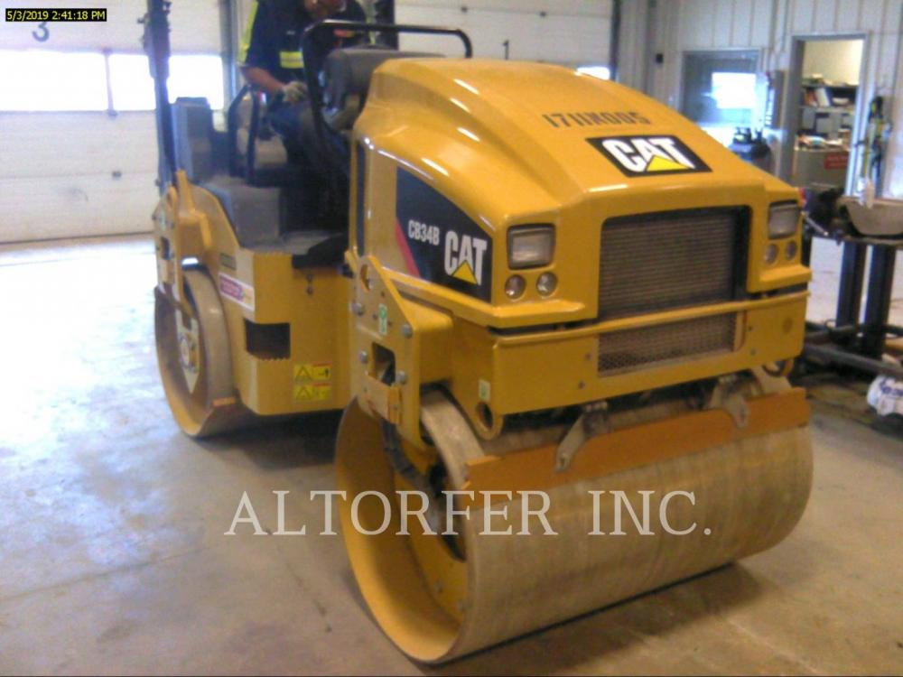 Detail photo of 2017 Caterpillar CB34B from Construction Equipment Guide
