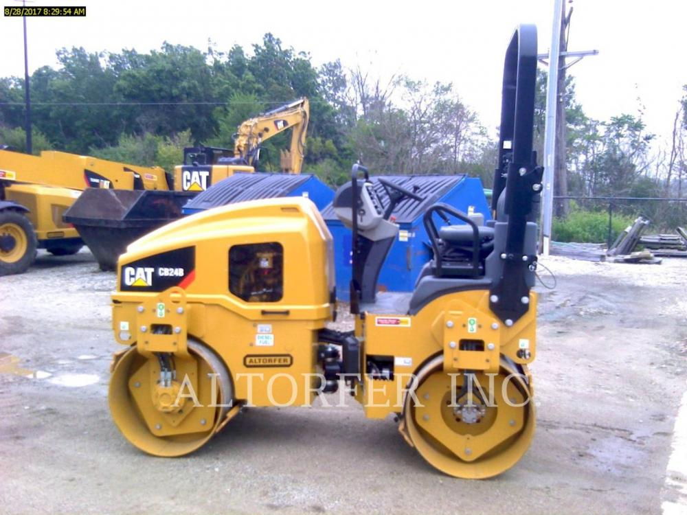 Detail photo of 2017 Caterpillar CB24B from Construction Equipment Guide