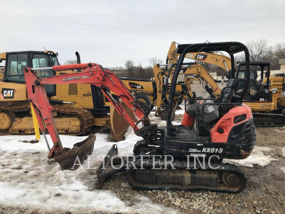 Detail photo of 2005 Kubota KX91-3 from Construction Equipment Guide