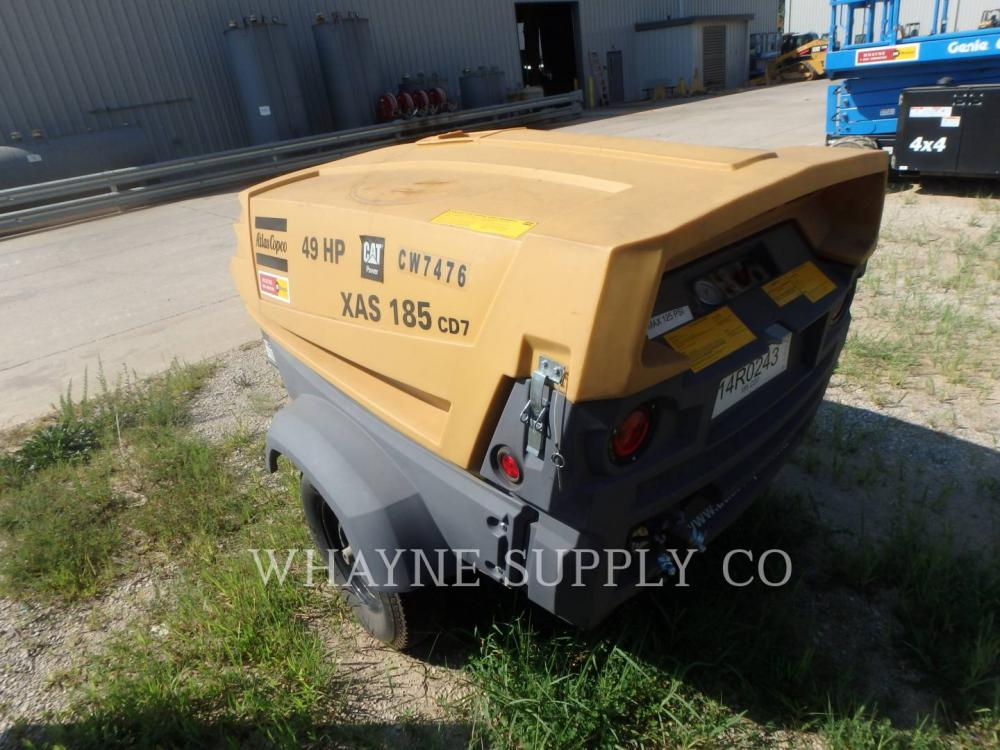 Detail photo of 2014 Atlas Copco 185 CFM from Construction Equipment Guide
