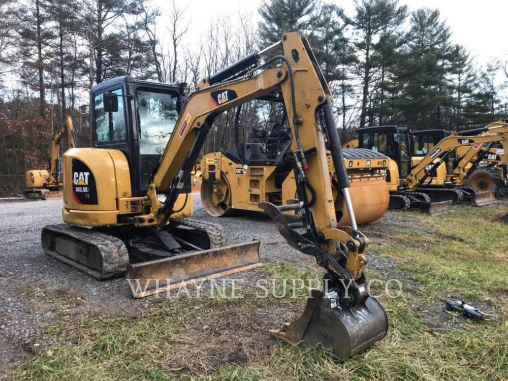 Detail photo of 2015 Caterpillar 303.5E2 CR from Construction Equipment Guide