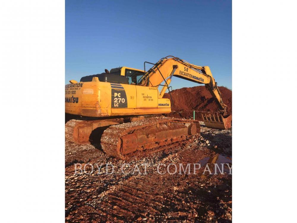 Detail photo of 2010 Komatsu PC270-8 from Construction Equipment Guide