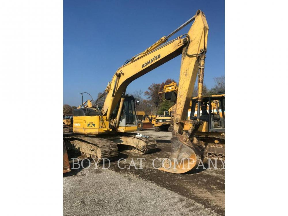 Detail photo of 2002 Komatsu PC228USLC-3 from Construction Equipment Guide
