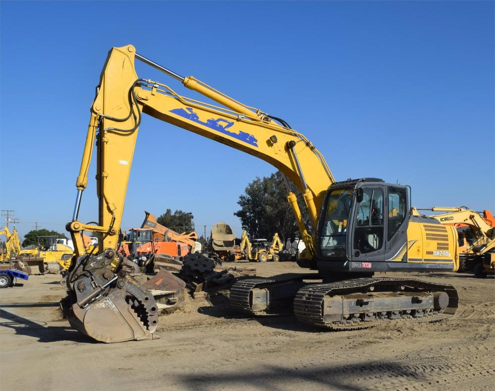 Detail photo of 2014 Kobelco SK210 LC-9 from Construction Equipment Guide