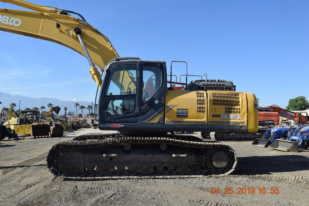 Detail photo of 2013 Kobelco SK350 LC-9 from Construction Equipment Guide