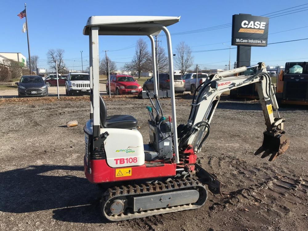 Detail photo of 2013 Takeuchi TB108 from Construction Equipment Guide