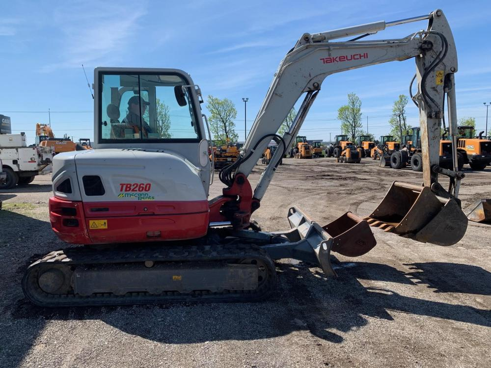 Detail photo of 2016 Takeuchi TB260 from Construction Equipment Guide