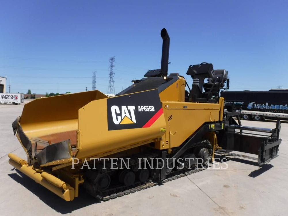 Detail photo of 2009 Caterpillar AP655D from Construction Equipment Guide