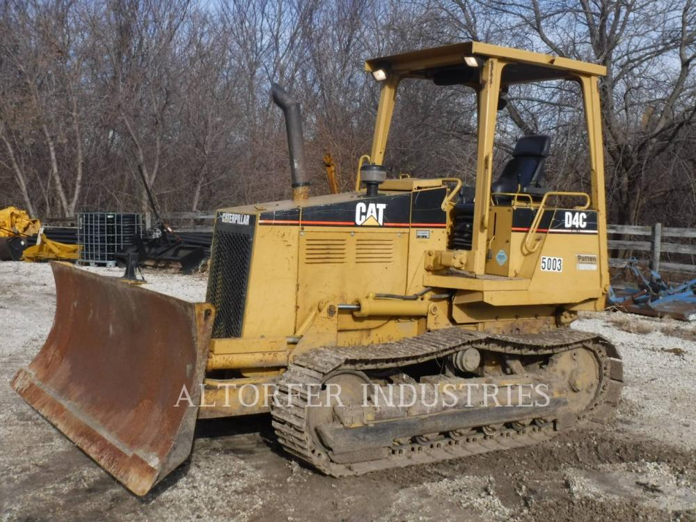Detail photo of 1997 Caterpillar D4C III from Construction Equipment Guide