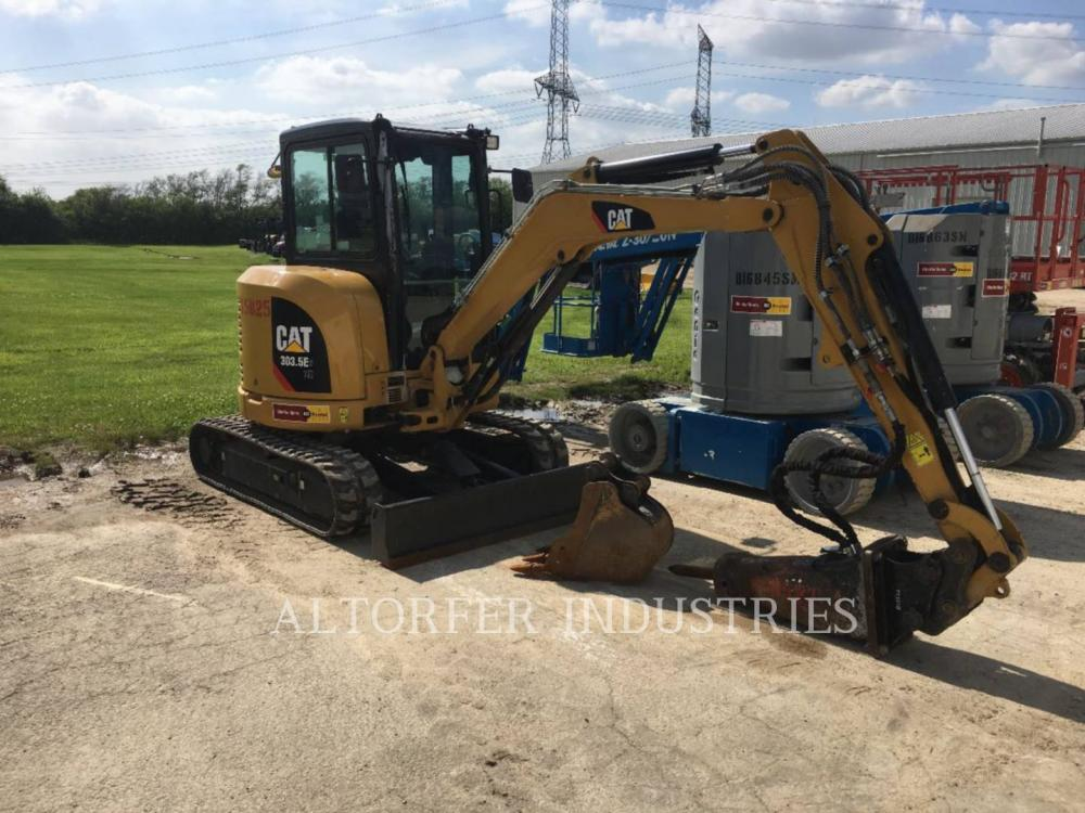 Detail photo of 2017 Caterpillar 303.5E CR from Construction Equipment Guide