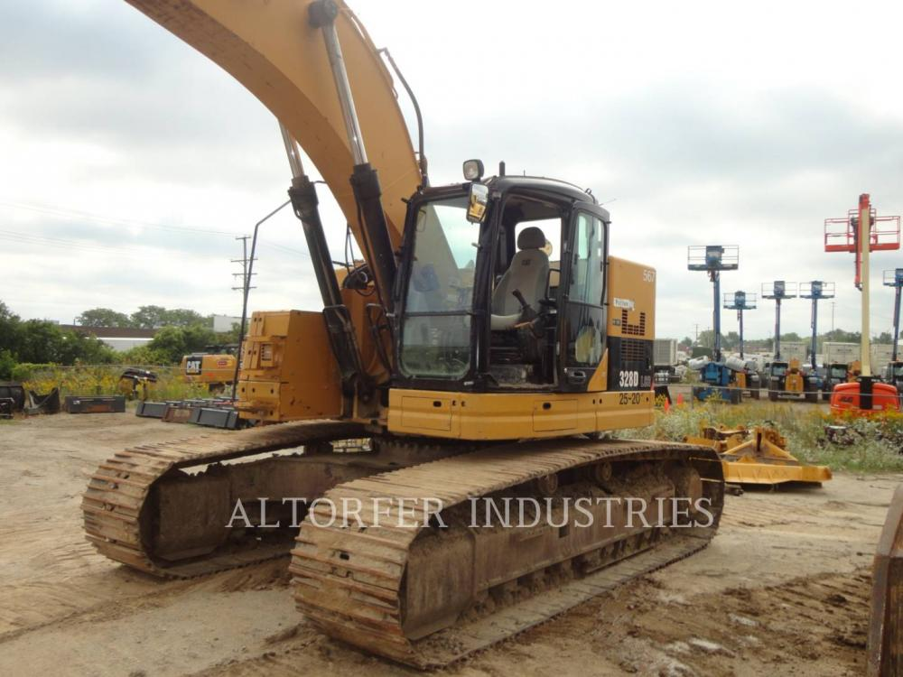 Detail photo of 2009 Caterpillar 329D L from Construction Equipment Guide