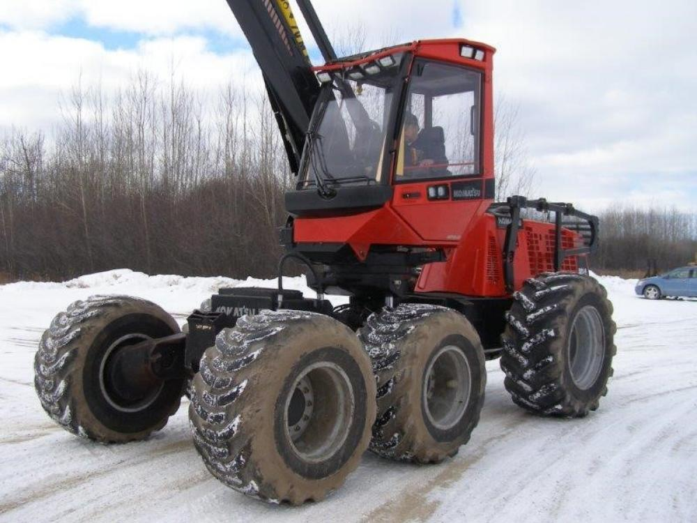 Detail photo of 2011 Valmet 911.4 from Construction Equipment Guide