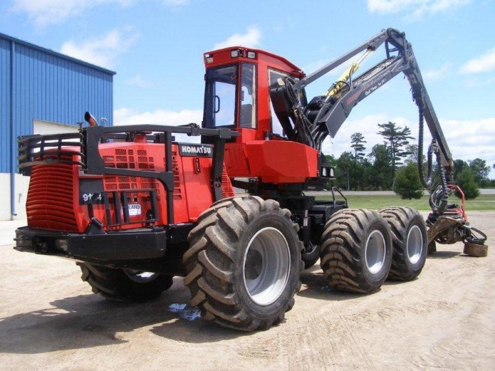 Detail photo of 2010 Valmet 911.4 from Construction Equipment Guide
