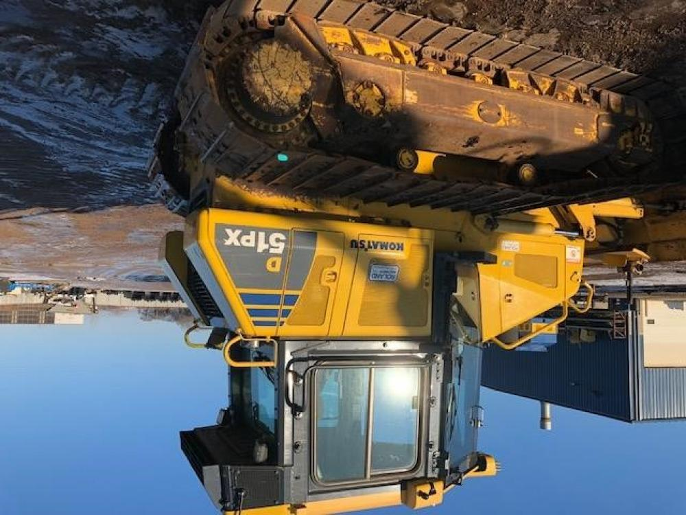 Detail photo of 2013 Komatsu D51PX-22 from Construction Equipment Guide