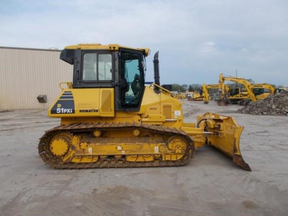 Detail photo of 2015 Komatsu D51PX-22 from Construction Equipment Guide