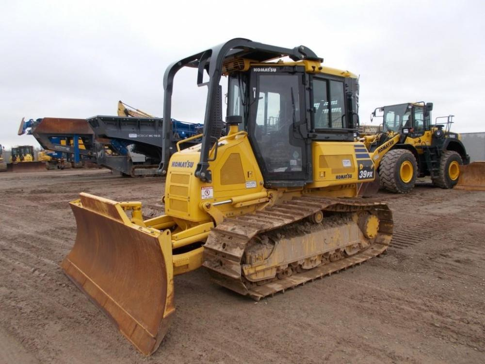 Detail photo of 2016 Komatsu D39PX-23 from Construction Equipment Guide