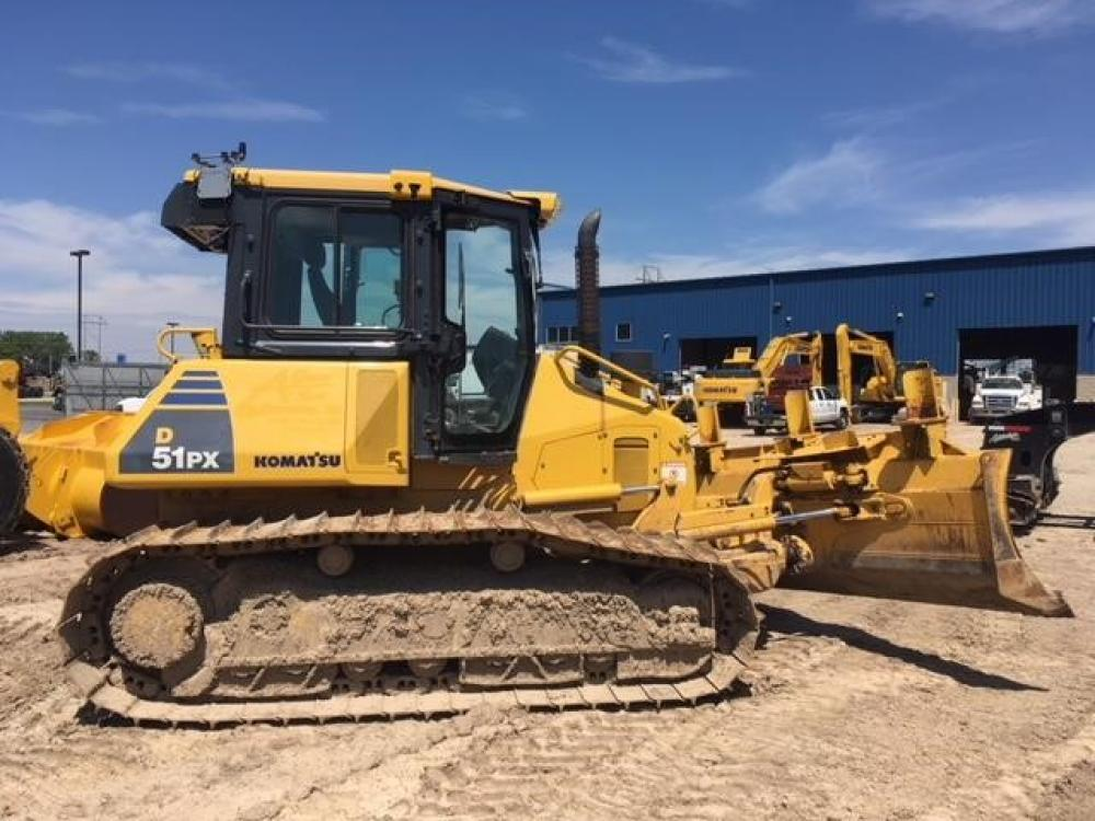 Detail photo of 2012 Komatsu D51PX-22 from Construction Equipment Guide
