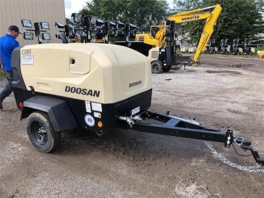 Detail photo of 2018 Doosan Portable Power C185WDOT4F from Construction Equipment Guide