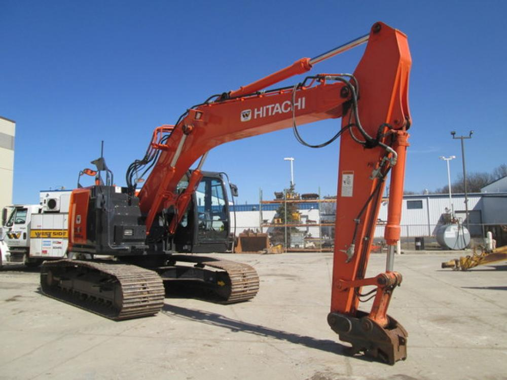 Detail photo of 2015 Hitachi ZX245LC-5 from Construction Equipment Guide