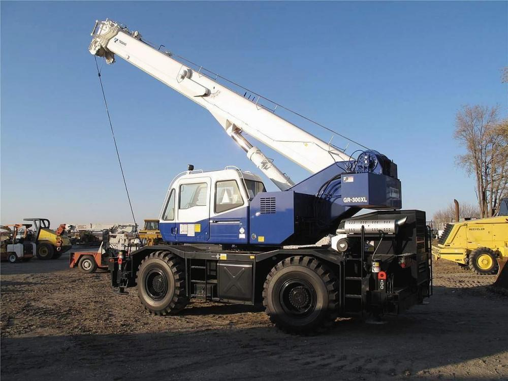Detail photo of 2008 Tadano GR-300XL from Construction Equipment Guide