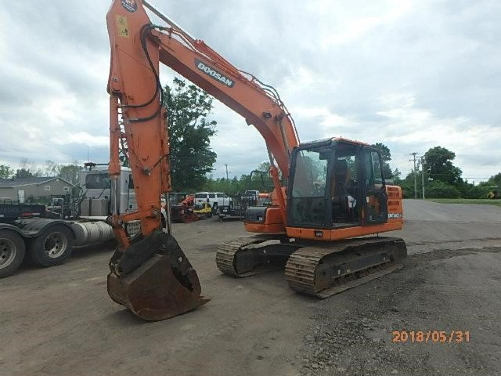Detail photo of 2014 Doosan DX140LC-3 from Construction Equipment Guide