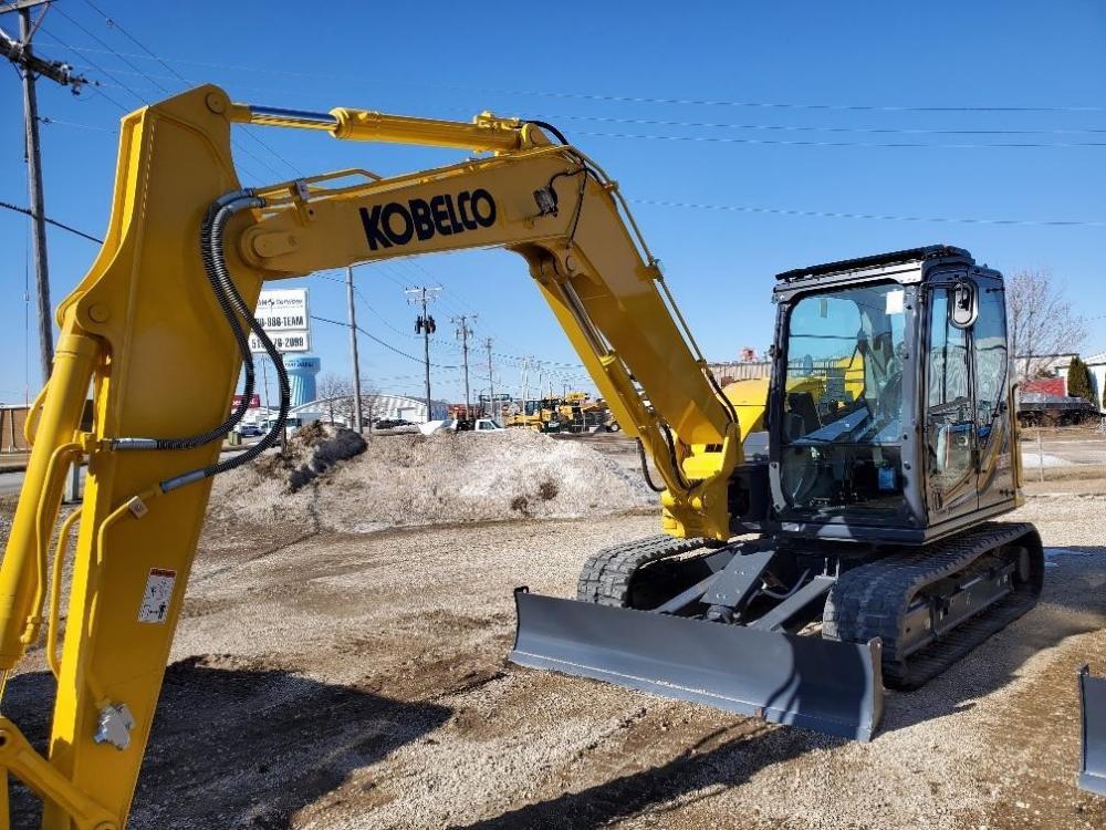 Detail photo of 2019 Kobelco SK85CS-7 from Construction Equipment Guide