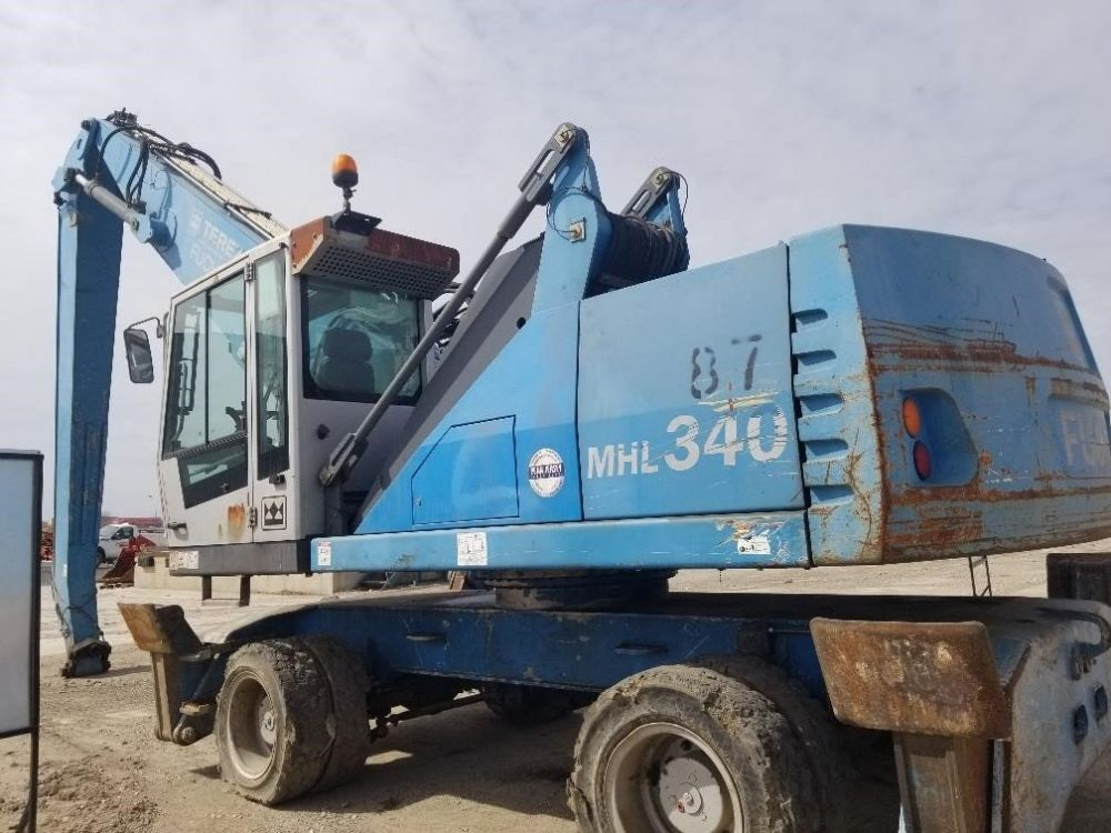 Detail photo of 2010 Fuchs MHL340 from Construction Equipment Guide